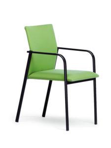 dama-3-4-patas-epoxy-negro-verde
