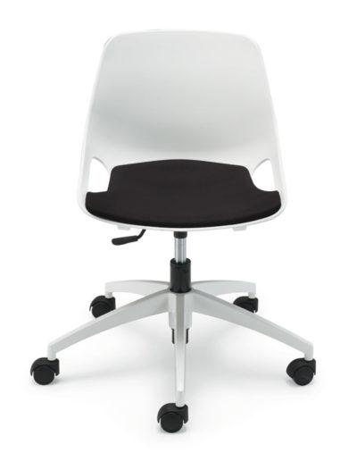 Q5 giratoria asiento tapizadoQ5 giratoria, tapicería negra